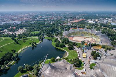 Olympiapark, München, Deutschland